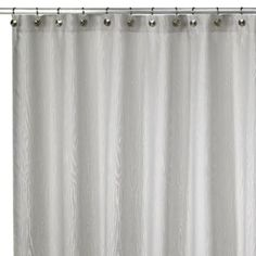 Kenneth Cole Reaction Home Wood Grain Shower Curtain - BedBathandBeyond.com