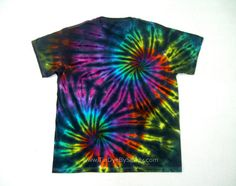 Large Tie Dye Shirt Inverted Rainbow Double by TieDyeBySandy, $19.99 Ty Dye, Tie Dye Techniques, Arts And Crafts, Diy Crafts, Tie Dye Shirts, Tie Dye Patterns, Creative Inspiration, Diy Clothes, Cool Kids