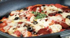 Tavada Pratik Pizza tarifi | Yemek Tarifleri