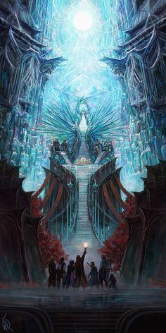 underground fantasy for your pleasure Fantasy Magic, Fantasy City, Fantasy Castle, Fantasy Kunst, Fantasy Places, Fantasy World, Fantasy Queen, Fantasy Forest, Fantasy House