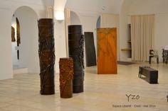 Exposition mai 2016 - Galerie Espace Liberté à Crest (Drôme - FRANCE) Sculptures de YZO www.yzo-forgeronne.com