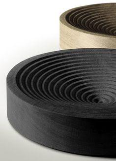 Perhaps other patterns cut into bowls. magia cnc | #saltstudionyc