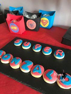 galletas superhéroes Ideas Para, Desserts, Food, 4th Anniversary, Afternoon Snacks, Tailgate Desserts, Deserts, Essen, Postres