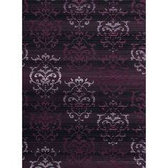 "Westfield Home Montclaire Germaine Plum Accent Rug - 1'11"" x 3'3"", Purple, Size 1'11"" x 3'3"""