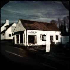 January 16th 2014. The antiques shop in Droxford, Hampshire. iPhone 5 with Hipstamatic 272. C-Type Plate film and Tinto 1884 lens.