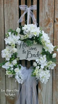 Houseplants for Better Sleep White Hydrangea Wedding Door Wreath-Bridal Shower Wreath-Bridal Wreath-Bridal Shower Decoration-Brid Wedding Door Wreaths, Bridal Shower Wreaths, Bridal Shower Gifts For Bride, Wedding Doors, Chic Bridal Showers, Wedding Shower Decorations, Bridal Shower Tables, Disney Bridal Showers, Summer Bridal Showers