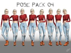 Pose Pack 04: Found in TSR Category 'Sims 4 Sets'