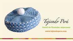 Boina en crochet para bebé