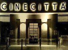 love the Cinecitta sign Cinema Sign, Movie Stars, Studios, Roman Holiday, Bvlgari, Signs, Weapon, Cupboard, Slogan