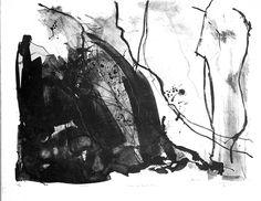 Lithografie-Lyrisch abstract tot 2003