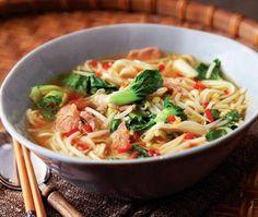 Vietnamese Pork Noodle Soup Recipe // from Nigella Lawson's Kitchen cookbook // House & Home