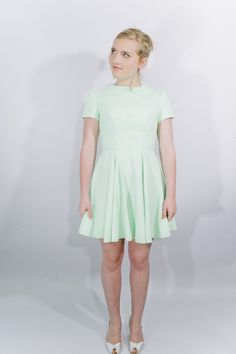 Katie Louise Ford Mint Dress