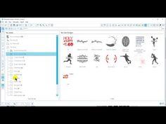 (40) Saving files into silhouette studio library - YouTube Silhouette Cameo 2, Silhouette Studio, Youtube, Youtubers, Youtube Movies