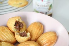 Madeleines cœur fondant au chocolat - Summer Girl Chipotle, Sorbet, Cheddar, Nutella, Chocolate Chip Bars, Eat Smarter, Pistachio, Biscuits, Raspberry