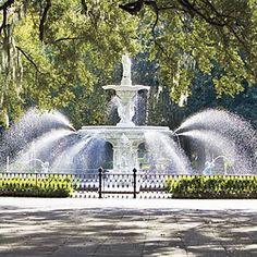 Weekend in Savannah
