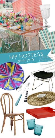 Hip Hostess: Garden Party