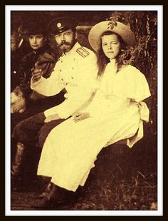 1896 .... Czar Nicholas II & His Younger Sister, Olga Alexandrovna | Flickr - Photo Sharing!