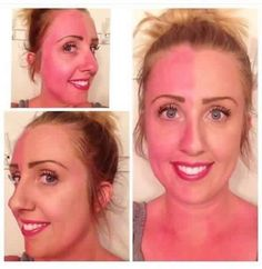 The power of amazing makeup! Glorious primer, Touch Cream Foundation in Taffeta & Touch Pressed Powder in Taffeta - that was it to cover up the sunburn! #touch #mineralmakeup #glorious #taffeta #younique