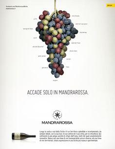 Campagna stampa istituzionale per Mandrarossa firmata DRT #advertising