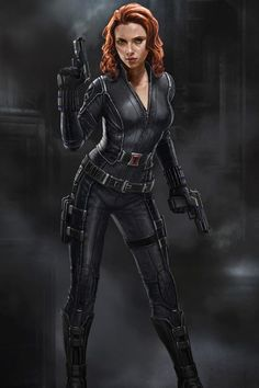 Making Scarlett Johansson A Superhero