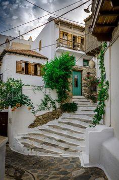 Skopelos town, Skopelos, Greece