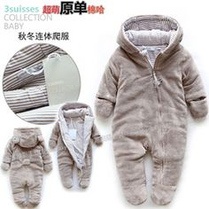 Online Shop Free shipping Retail new 2014 autumn winter romper baby clothes kids cotton warm rompers baby wear newborn baby boy overalls|Aliexpress Mobile