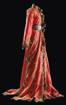 19thC turkish robe