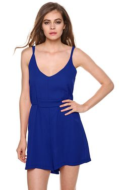 Damen Jumpsuits sexy Sleeveless Bügel-Backless Querverband-Overall-Spielanzug Herbst SommerKleid: Amazon.de: Bekleidung