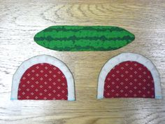 This is a Tutorial in Pictures for a fun project to make a Watermelon Coin Purse. Как сшить Кошелек Арбуз.