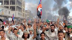 Thousands in Yemen Protest Against the Government Arab States, Arab Spring, Military Operations, Former President, New Media, Rally, World, Html, Revolution
