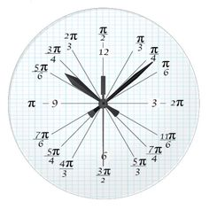 Shop Unit Circle Clock created by BlueLionProducts.