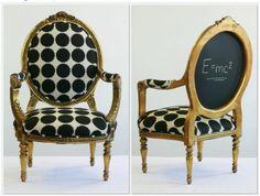 Antes y después de tapizar una butaca   Hacer bricolaje es facilisimo.com