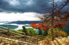 GREECE CHANNEL |  Plastira lake in Thessaly... Just like a post card!!