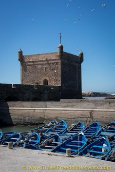Food Fun Adventure Essaouira Morocco: Essaouira guide. Learn more about this sleeping little fishing village on the coast of Morocco - you'll fall in love with Essaouira, we did! click through to read mroe