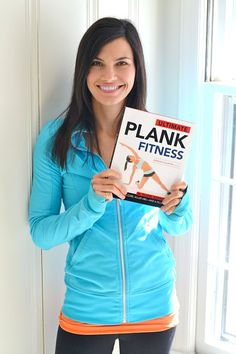 Ultimate Plank Fitness Jen DeCurtins- One of my favorite fitness bloggers.  Definitely getting her book.  - LLR