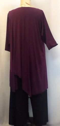 94674ef661e Plus Size Tunic Coco and Juan Plus Size Top Asymmetrical