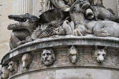 Day 10: Fontaine de Cuvier in Paris (Balades urbaines de Nathalie à Toronto... et ailleurs: Paris, Jour 10: Du Jardin des Plantes au Parc Bercy)
