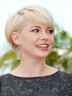 MICHELLE WILLIAMS Love love, thinking this is along the lines of the new me.