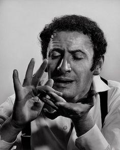 Marcel Marceau, 1956.    Photo by Yousuf Karsh