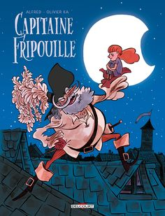 Capitain Fripouille - Alfred, Olivier Ka