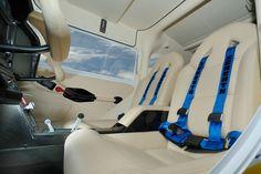 The luxury leather seats in Sirius  #sirius #aircraft #luxury