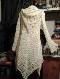 Crochet Pattern Lace Jacket