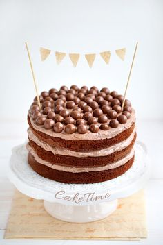 Tort czekoladowo-słodowy z Maltesers wg Nigelli Lawson