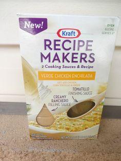 Chicken Enchiladas Casserole with Kraft Recipe Makers #RecipeMakers
