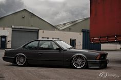 BMW E24 635CSI | Bagged on Airlift Struts, thanks to Bag Rid… | George Pritchard | Flickr