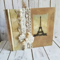 Vintage French Album Personalized Album by ShabbyChicJCouture