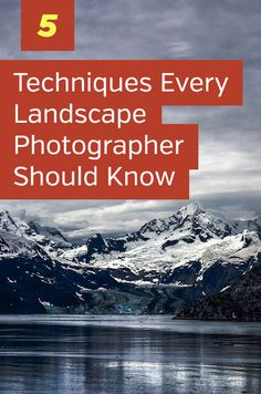 5 Tips and Techniques Every Landscape Photographer Should Know. How to take amaz. - Photography, Landscape photography, Photography tips Landscape Photography Tips, Photography Lessons, Photoshop Photography, Landscape Photographers, Photography Tutorials, Landscape Photos, Digital Photography, Nature Photography, Travel Photography