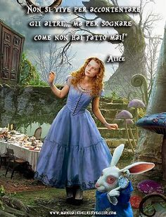 I'm so there (in when Tim Burton's Alice in Wonderland opens this Friday. I already anticipate going through a brief Alice style phase. Alice, the Mad Alicia Wonderland, Alice In Wonderland Costume, Adventures In Wonderland, Alice In Wonderland Poster, Alice Tim Burton, Alice Madness, Mad Hatter Tea, Mad Hatters, Halloween Party Costumes