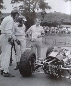 Dan Gurney   Jim Clark (Belgium 1964)