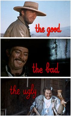 Movies you can watch on your computer for free RIGHT NOW The Good, the Bad and the Ugly (1966)